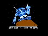 Crystal Mines NES Your mining robot