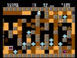 Crystal Mines NES You blast through certain walls to reach the crystals