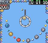 Ballistic Game Boy Color 'Time Attack' plays the same as 'Panic' but with a clock running.