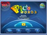 PictoWords Windows Main menu