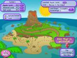 Professor Fizzwizzle and the Molten Mystery Linux The island map