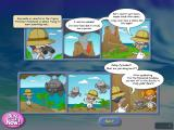 Professor Fizzwizzle and the Molten Mystery Linux The opening story, told in comic strip form.