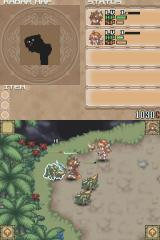 Summon Night: Twin Age Nintendo DS Battle screen
