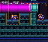 Sparkster SNES Avoid the beam