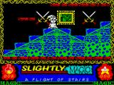 Slightly Magic ZX Spectrum What's that green thing I'm standing on?