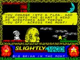 Slightly Magic ZX Spectrum About to leave the castle behind.