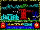 Slightly Magic ZX Spectrum Spooky forest.