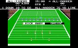 John Madden Football DOS Should I kick or receive?