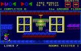 Twot Tot and the Mansion of Madness Atari ST This is where the game starts
