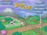 The Amazing Brain Train! Linux Main menu