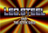 Leo Steel and the Aztek Gold Browser Title Screen