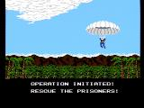 Operation Wolf NES Starting a new game