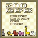 Zoo Keeper Browser Title screen and main menu