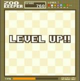 Zoo Keeper Browser I reached the next level.