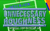 Unnecessary Roughness '95 DOS Title screen