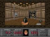 DOOM SEGA 32X Lighting effects aren't super great.