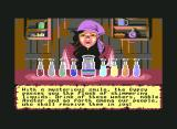 Ultima VI: The False Prophet Commodore 64 The character creation gypsy woman.