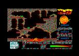 Bigfoot Amstrad CPC Fell into lava