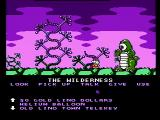 Cosmic Spacehead NES Strange creatures may block your path