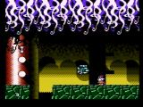 Cosmic Spacehead NES An action sequence