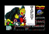 Bigfoot Amstrad CPC Title screen