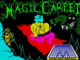 Magic Carpet ZX Spectrum Loading screen