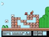 Super Mario Bros. 3 NES Red kappa on top of the structure