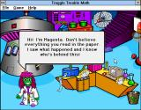 Troggle Trouble Math Windows 3.x Introducing Magenta