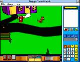 Troggle Trouble Math Windows 3.x Santa Bongo