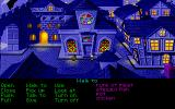 The Secret of Monkey Island DOS From left to right: The path to Elaine's mansion, the prision, and the church.
