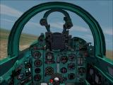 MiG-21 Interceptor Windows You can switch between a 2D and a 3D virtual cockpit.