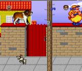 Beethoven's 2nd SNES You are angry on the man with a gun...Little dog on the streets is out of control also...