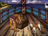 Wishbone and the Amazing Odyssey Windows Loading the chest onto the ship