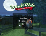 Time to Ride: Saddles & Stables Windows Title screen and main menu