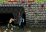 Mortal Kombat SEGA CD Sonya vs. Sub-Zero in the Dungeon