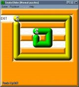 SnakeSlider Windows Puzzle four. No clue how to solve this.