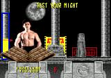 Mortal Kombat SEGA CD Test your Might