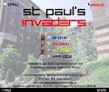St. Paul's Invaders Browser Title screen