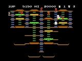 BurgerTime NES The second level