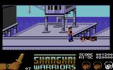 Shanghai Warriors Commodore 64 Killed an enemy with throwing knives