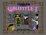 Gauntlet NES Title screen