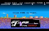 Crazy Cars Amiga Space Shuttle Challenge