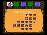 Gauntlet NES A map of the levels