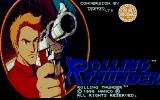 Rolling Thunder Atari ST Title screen