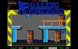 Rolling Thunder Atari ST Crouching and watching my bullets clear the air over a slain opponent