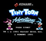 Tiny Toon Adventures NES Title Screen