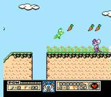 Tiny Toon Adventures NES Plucky can hover.