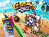 Elf Bowling: Hawaiian Vacation Windows Title screen and main menu