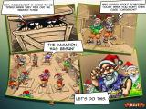 Elf Bowling: Hawaiian Vacation Windows Starting the story mode. The opening story in comic form.