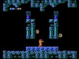 Metroid NES Starting a new game